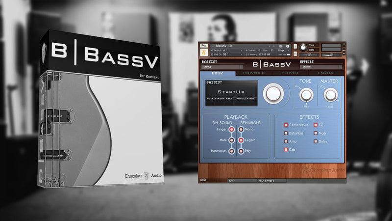 Chocolate Audio BBassV for Kontakt