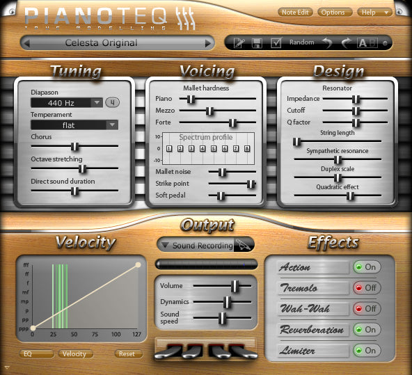 Pianoteq Celeste Add-On