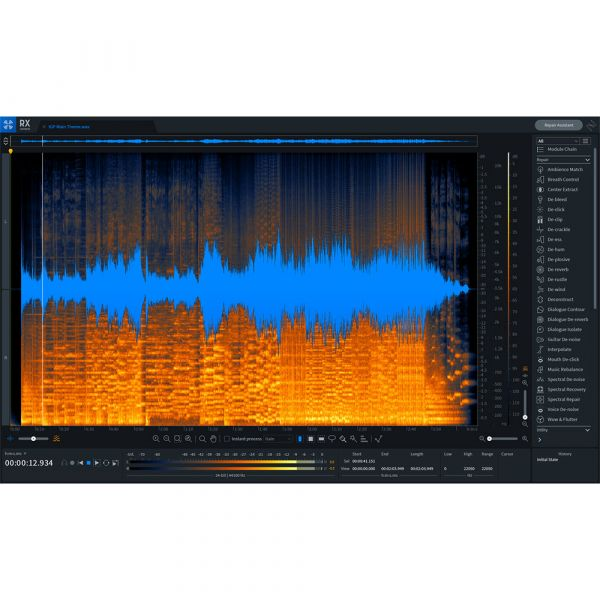 iZotope RX 8 Advanced Upgrade from any RX Advanced/Post Production Suite