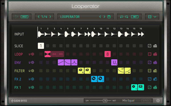 "ooperator makes designing subtle rhythmic enhancements to spectacular effect pyrotechnics easy and fun: Its expressive potential quickly approaches the character of an ""instrument""."
