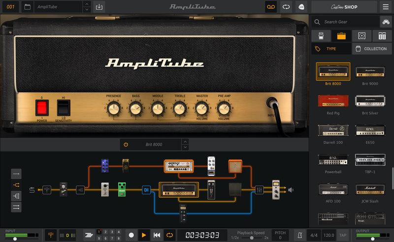 IK Multimedia AmpliTube 5 SE