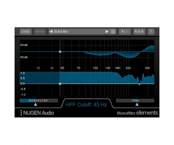 NUGEN Audio Monofilter Elements