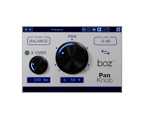 Boz Digital Labs Pan Knob
