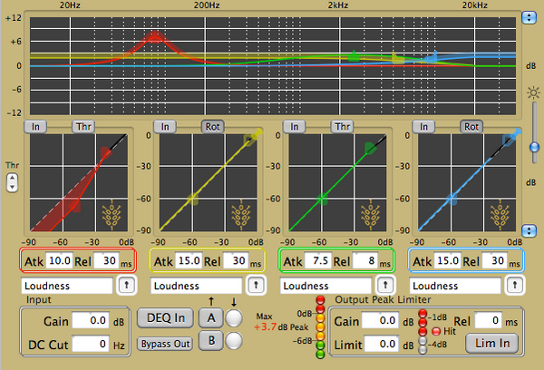 Wholegrain Digital Systems Quartet DynPEQ v1.4