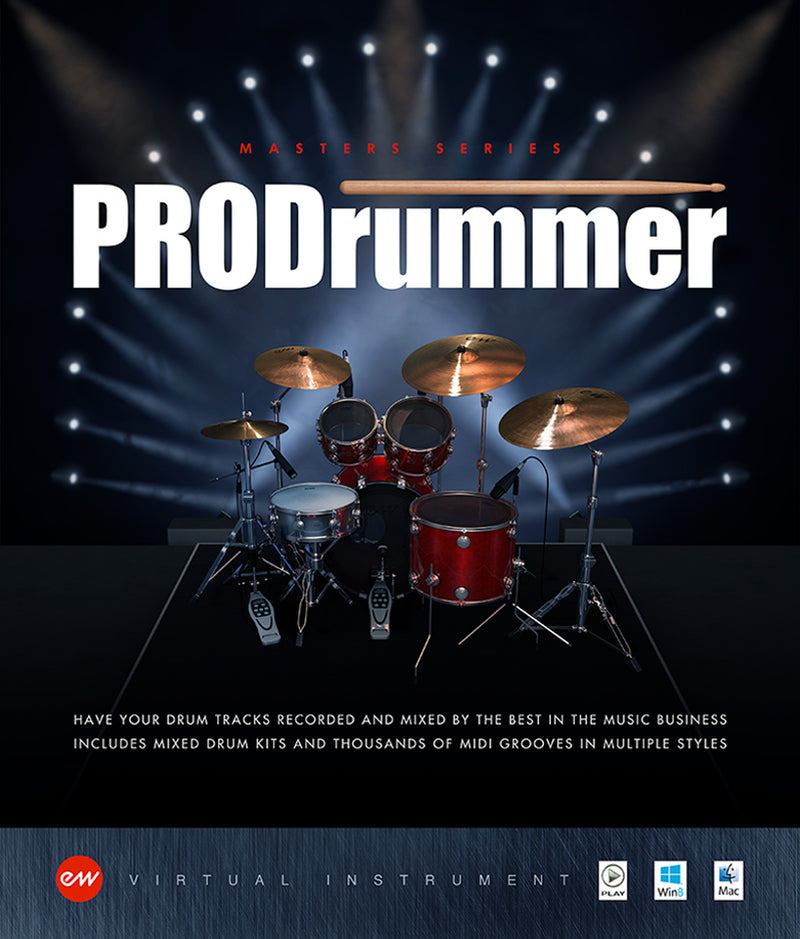 EastWest PRODRUMMER 1 & 2 Joe Chiccarelli & Mike Stent