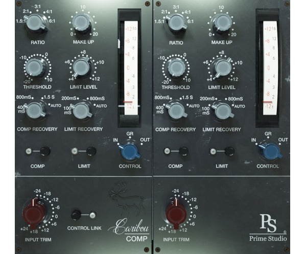 Prime Studio Caribou Compressor Graphic User Interface