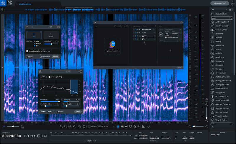 iZotope RX 8 Advanced Upgrade from RX Elements/Plug-in Pack