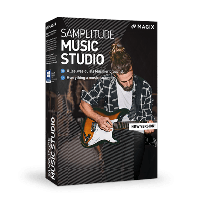 MAGIX Samplitude Music Studio 19 - Instant Delivery