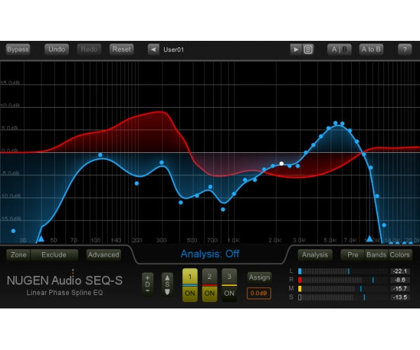 NUGEN Audio SEQ-S