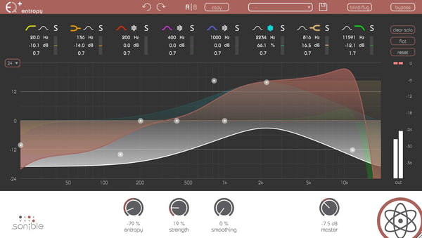 Sonible entropy:EQ+