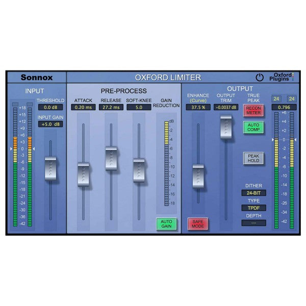 Sonnox Oxford Limiter HD-HDX