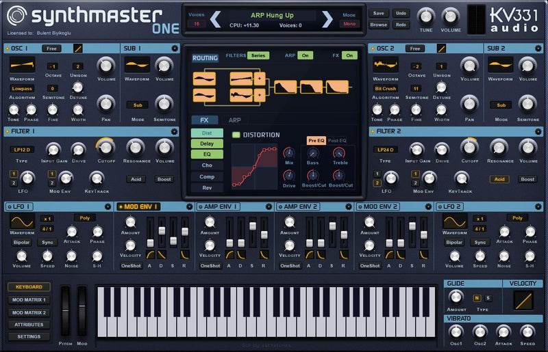 KV331 Audio SynthMaster + SynthMaster One Bundle