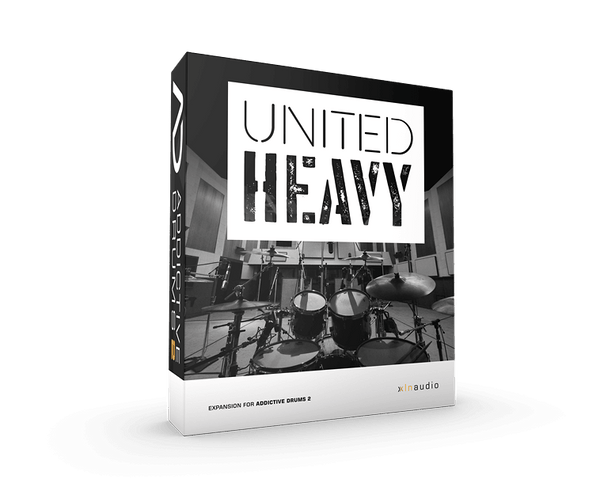 XLN Audio United Heavy ADPACK - AD2