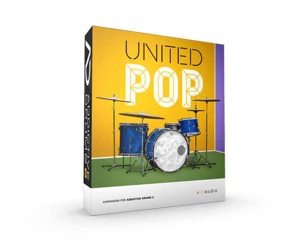 XLN Audio United Pop ADPACK - AD2
