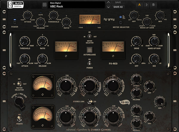 Slate Digital Virtual Buss Compressors Dynamics Processing