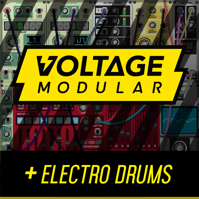Cherry Audio Voltage Modular Core + Electro Drums