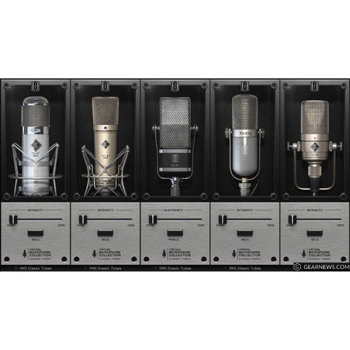 Slate Digital VMS Classic Tubes 3 - 5 Mic Expansion