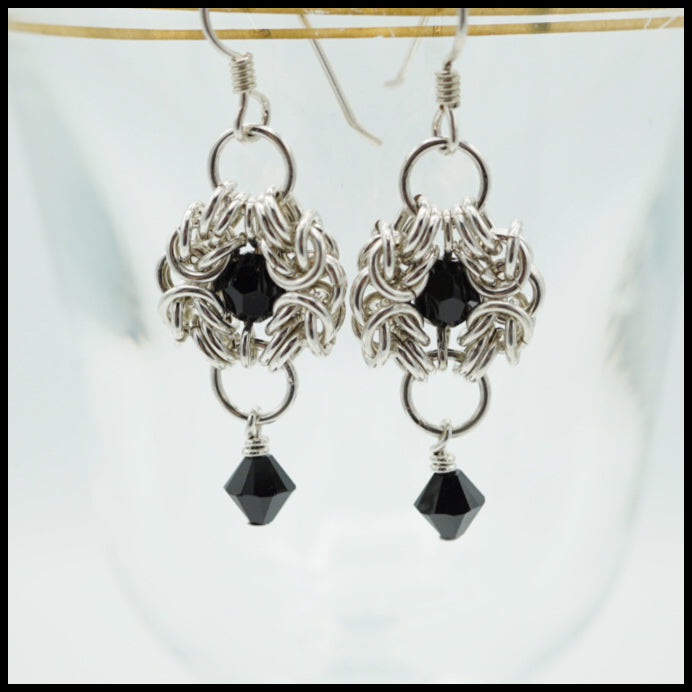 Byzantine Chandelier Earrings