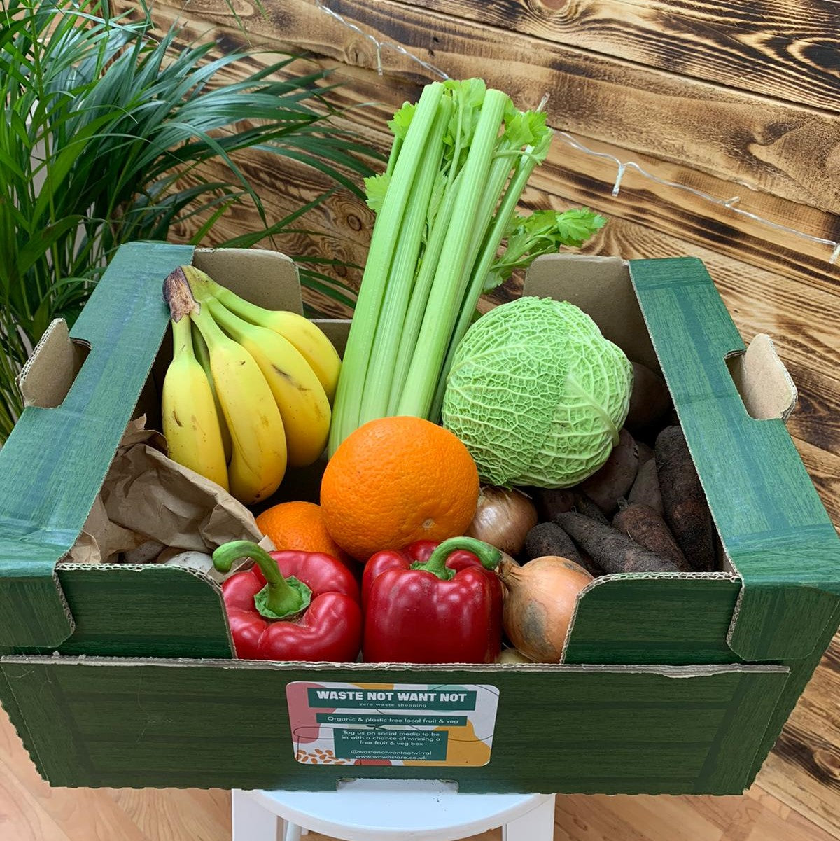 Mixed fruit & veg box - Medium