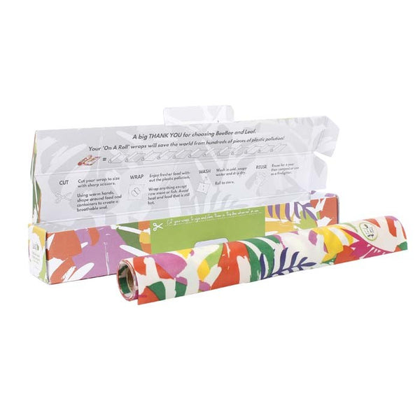LEAF - Vegan wax wrap roll 1m
