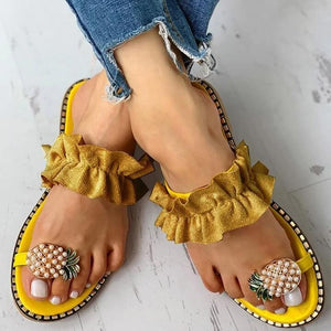 Lilyta™ Cute Pineapple Sandals