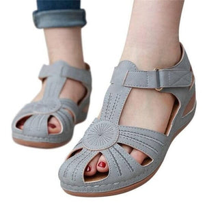 Lilyta™ CASUAL COMFORT ADJUSTABLE WEDGE SANDALS