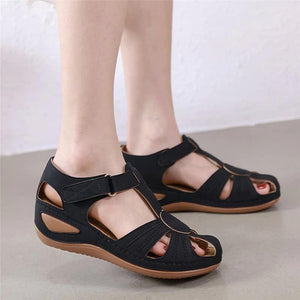 Dr Home™ - Casual Comfort Adjustable Wedge Sandals