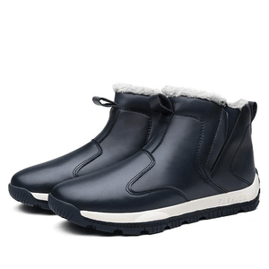Waterproof™ Men's Winter Faux Fur Warm Snow Boots