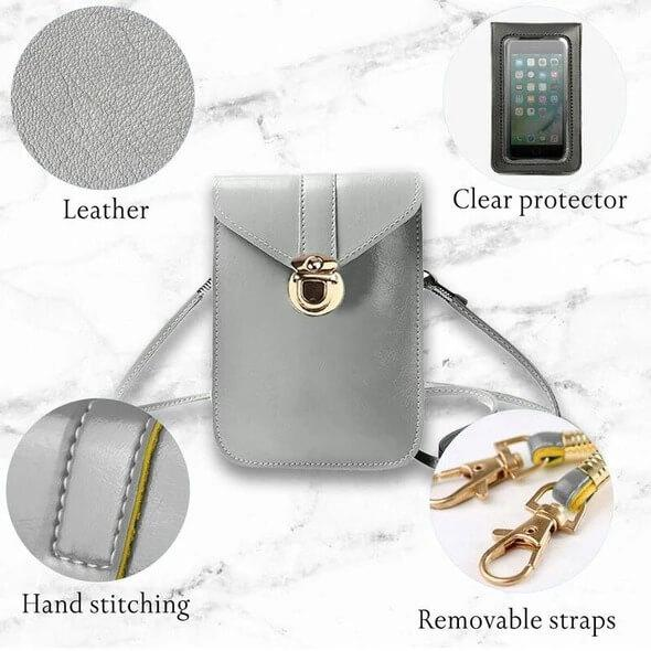 SmartBag™- Touch Screen Leather Phone Bag [Buy 2 Free Shipping]