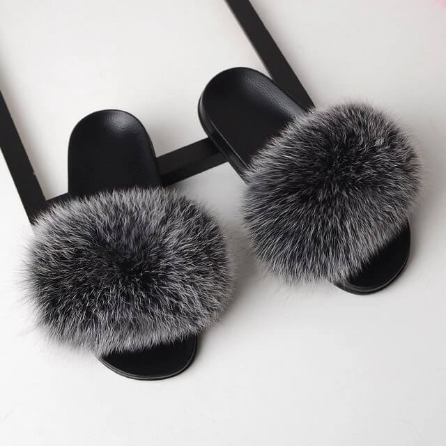 Lilyta™ Fur Sandals (Genuine)