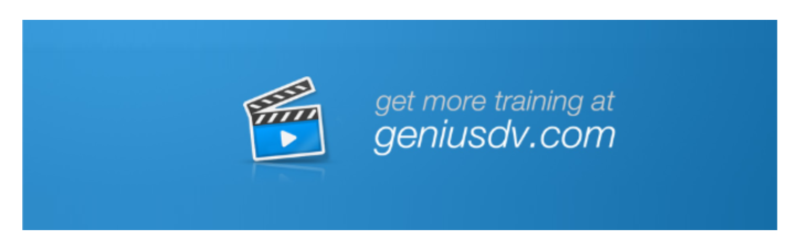 GeniusDV Avid Media Composer tutorials