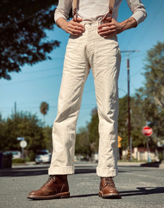 Lot. WW - O5 Natural Denim Trousers