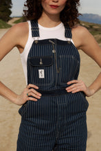 Load image into Gallery viewer, Wabash Stripe Overalls