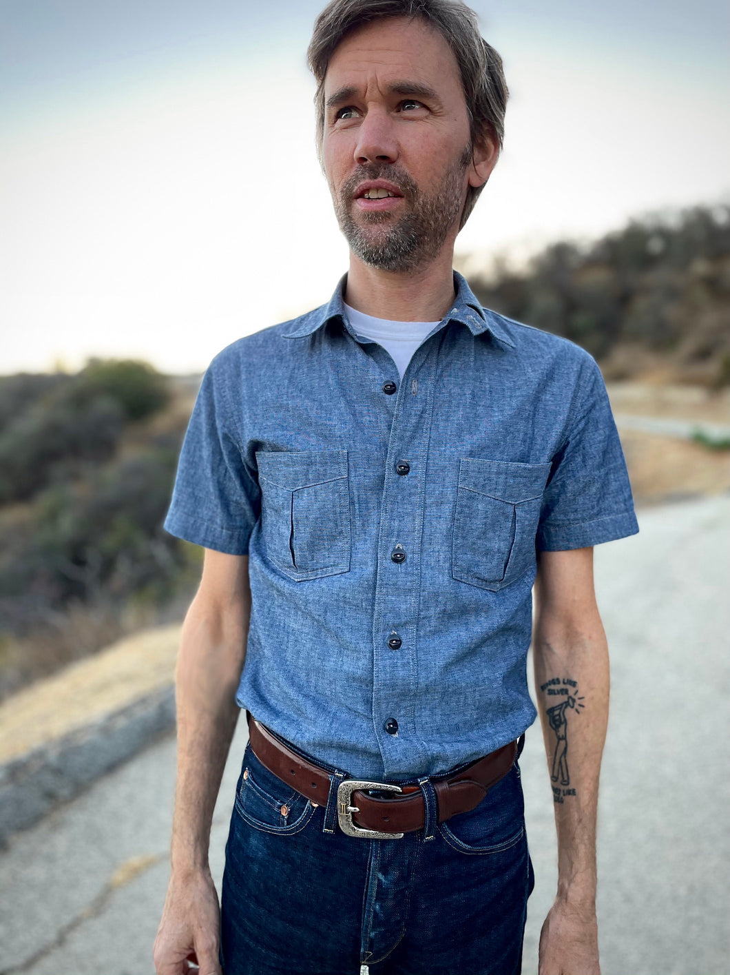 Just Another Chambray Shirt - Short Sleeve