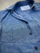Load image into Gallery viewer, Just Another Chambray Shirt - Short Sleeve