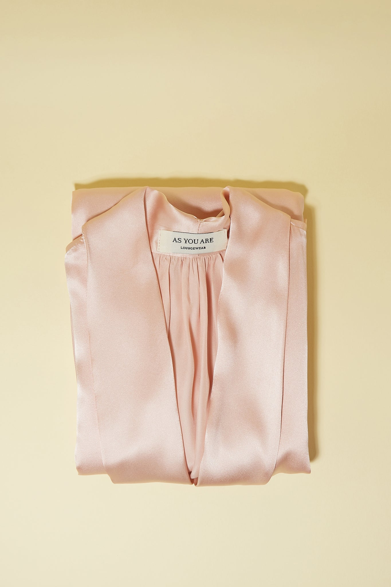 Blush Silk Robe