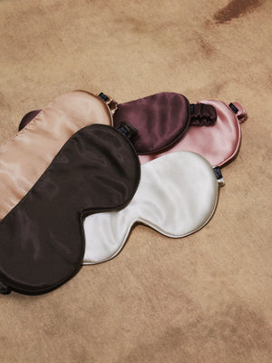 Silk Sleep Mask - Pearl