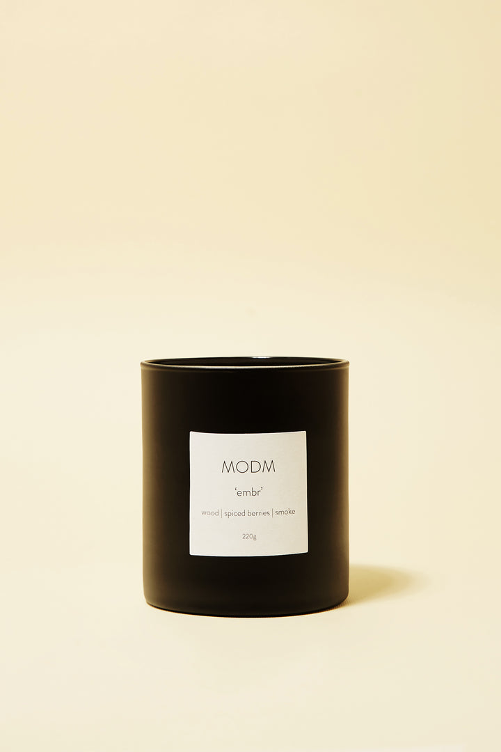 'EMBR' candle