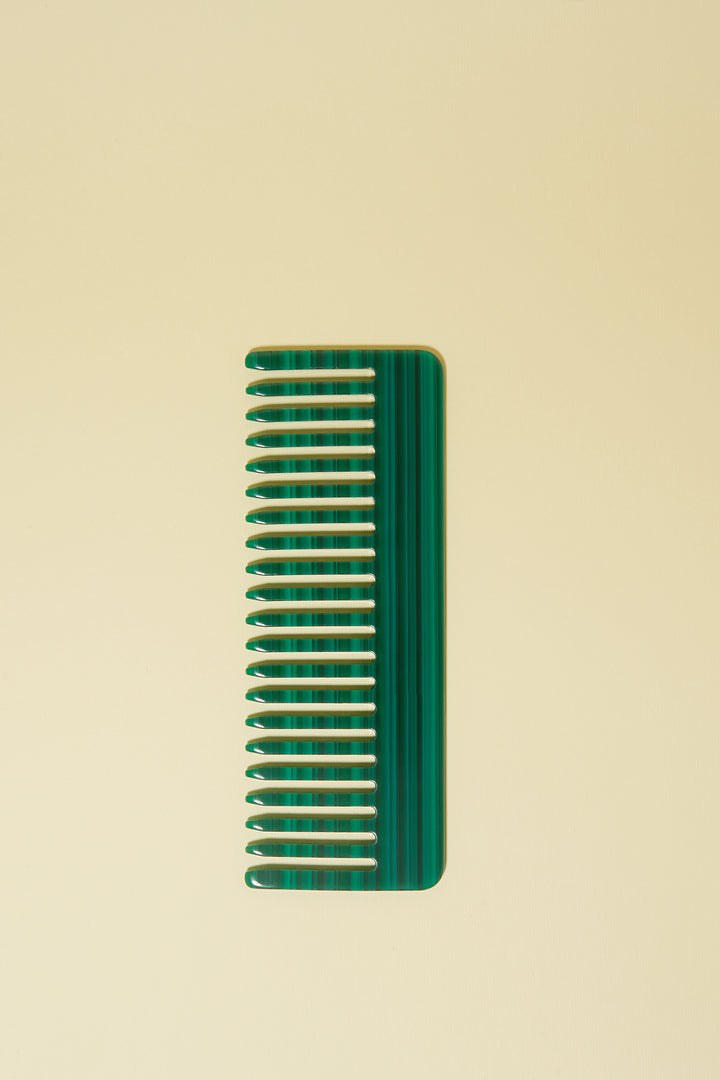 No. 2 Comb in Malachite
