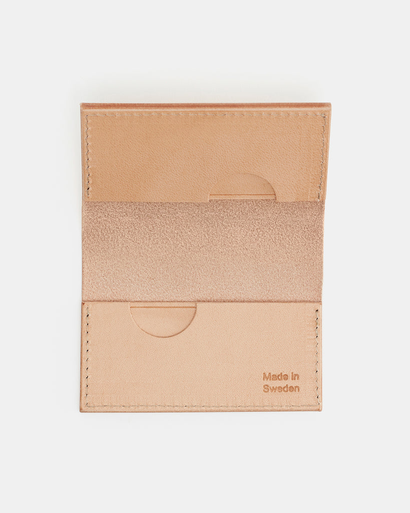 Nordre Card case natural