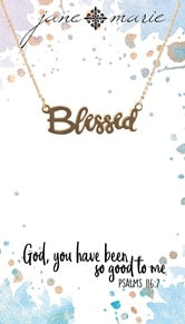 Gold Blessed Necklace