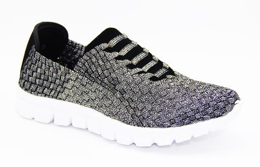 Shell Pewter Tennis Shoe