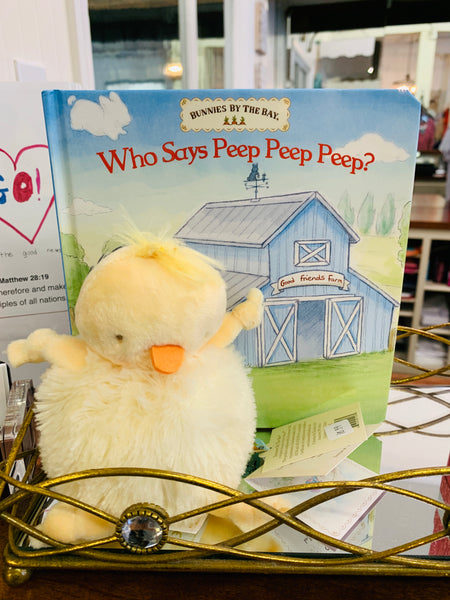 Who Says Peep Peep Peep? Book