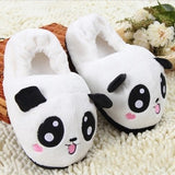 Winter warm plush slippers