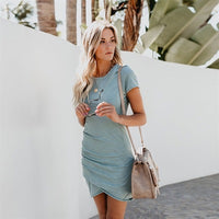Short-sleeved women's dress