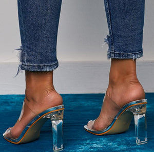 PVC Transparent Open Toe