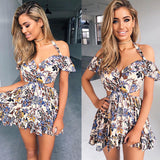 Sleeveless Short Mini Dress