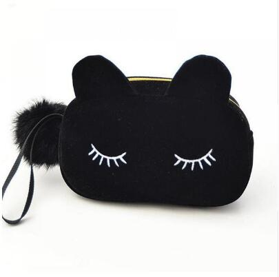 Cartoon Cat Coin/Makeup Pouch