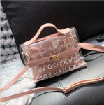 Clear Large Transparent Crossbody Bag