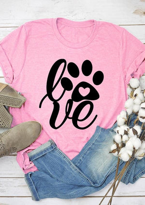 Paw Love Tee Shirt